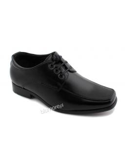 Buty komunijne dla chłopca 30 - 35 tk01 czarne