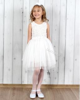 Sukienka balerina 128 - 158 Oktawia ecru