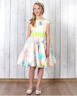 Piękna pastelowa sukienka 128 - 158 Anita 2 multikolor