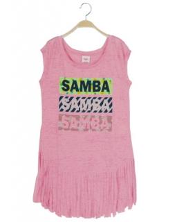 Coś fajnego na lato - tunika samba 152 - 170 BGPO-8357 róż