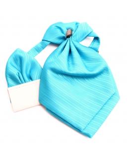 Regulowany musznik z wypustką do koszuli - turkus