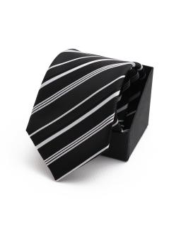 Oryginalny krawat wizytowy KR-22 czarny