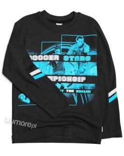 Koszulka z długim rękawem dla chłopca 110 Marcel czarny
