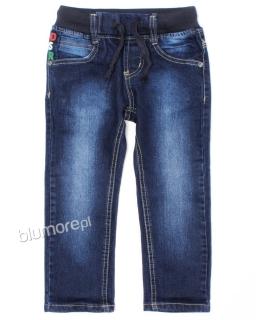 Spodnie dżinsowe 92-122 Mateo granat