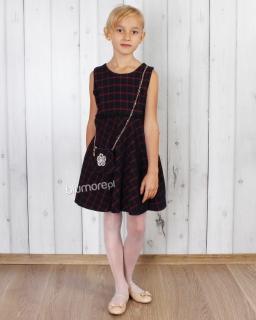 Wizytowa sukienka dla dziewczynki 92 - 152 Kimberly granat
