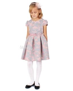 Unikatowa sukienka z efektem 3D 128-152 Mada II