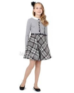 Sukienka idealna na święta 140-158 Dominika dwa kolory