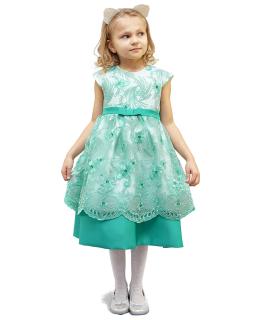 Galowa sukienka 86-128 Aniela 2 morski