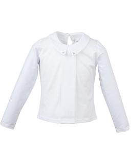 Bluzka o prostym fasonie 98-128 Ava biały