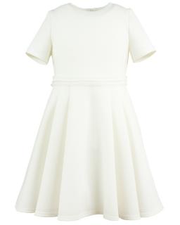 Delikatna sukienka w tłoczone kropeczki 146-164 Cecil