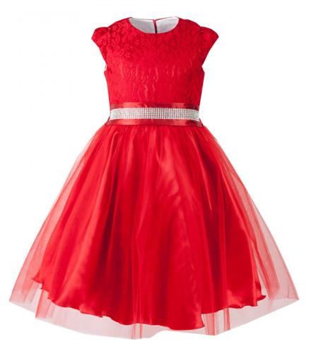 504a902b31 Sukienki dla dziewczynek w kolorze czerwonym królują jesienią