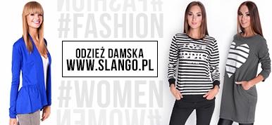 Sklep z odzieżą damską   www.slango.pl