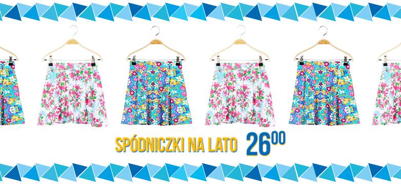 Spódniczki idealne na lato!