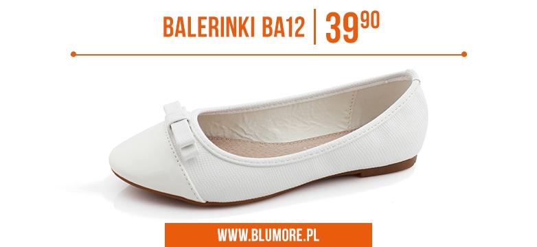 Szykowne baleriny BA12 - sprawdź teraz!