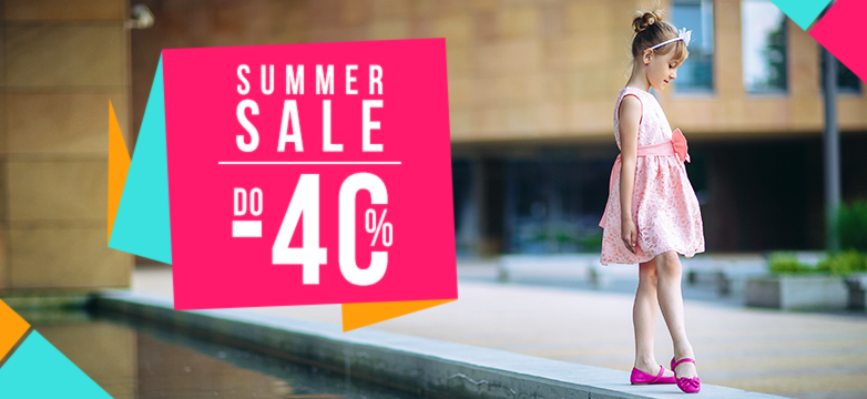 SUMMER SALE 2016 | Rabaty do -40%!