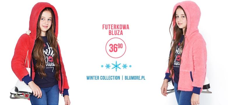 Ciepła i wygodna bluza na zimę — model BL05!