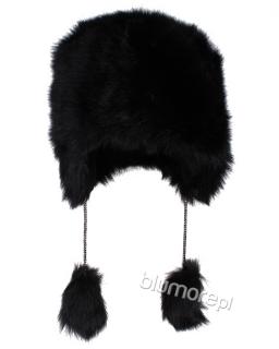 Czarna czapka Yeti