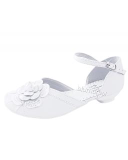 Genialne buty komunijne 28-38 bk10 białe