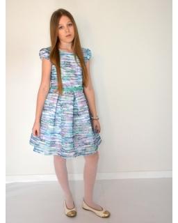 Unikalna sukienka 128-158 Multikolor