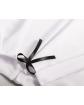 Elegancka bluzka z kokardką 122-152 Biała