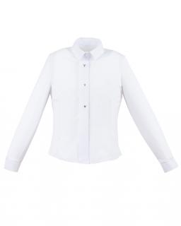 Szykowna bluzka o klasycznym fasonie 122-152 Erin biały