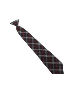 Krawacik dla chłopca w elegancką kratkę 32cm