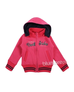 Sportowa bluza dla dziewczynki 92-122 GPU-6845 Róż