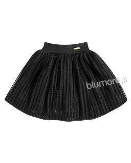 Nietypowa spódniczka dziewczęca 98-140 Rita czarny