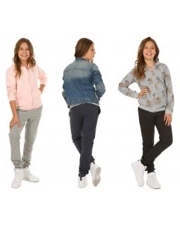Dziewczęce spodnie dresowe 116-158 KR42 Cztery kolory