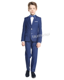 Modny garnitur chłopięcy 128-152 Dawid 2 Kobalt