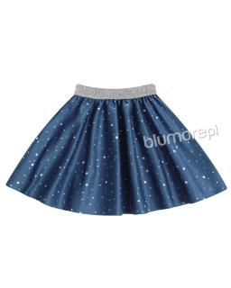 Fenomenalna spódniczka z gwiazdkami 104-158 Anabella niebieski