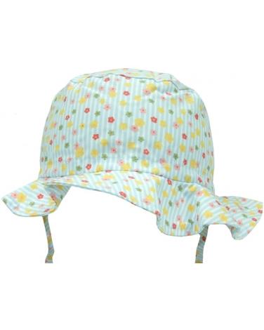 Wygodny letni kapelusz dla dziewczynki 44 - 50