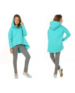 Oryginalna bluza oversize 128-158 KR73 cztery kolory