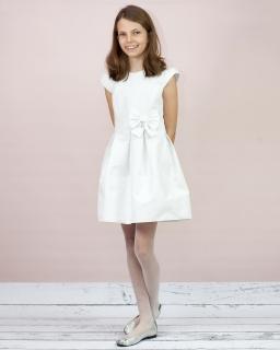 Dziewczęca sukienka na komunię 140-164 Marlena ecru