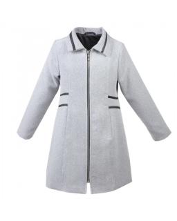 Wiosenny płaszcz dla dziewczynki 140-158 Wera szary