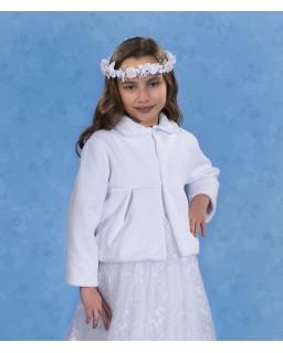 Bolerko komunijne dla dziewczynki 128-152 PKC48
