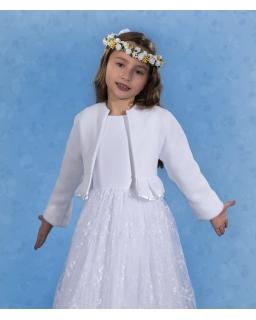 Wdzianko komunijne dla dziewczynki 128-152 PKC54