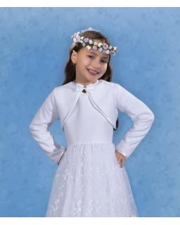Bolerko komunijne dla dziewczynki 128-152 PKC28