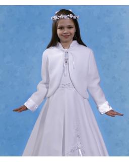 Komunijne bolerko dla dziewczynki 128-152 PKC20