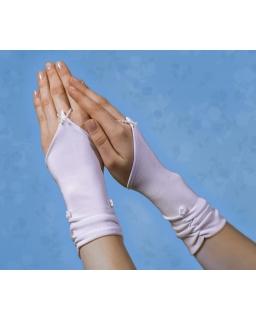 Rękawiczki komunijne dla dziewczynki RK08