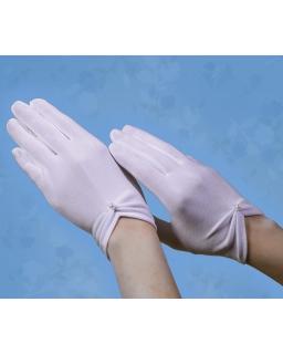 Rękawiczki komunijne z perełką RK28