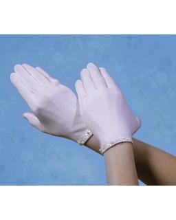 Pełne rękawiczki komunijne RK37
