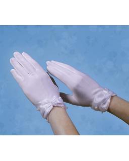 Komunijne rękawiczki z perełkami RK41
