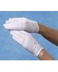 Marszczone rękawiczki komunijne RK61
