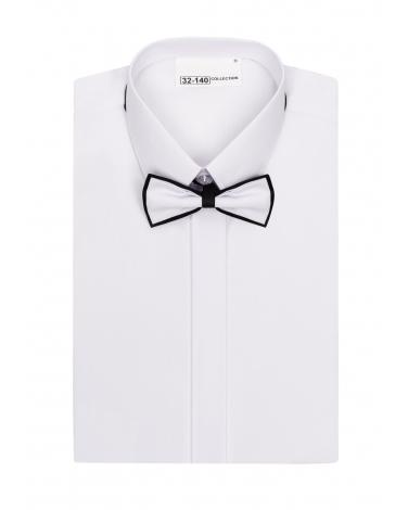 Biała koszula komunijna z muszką dla chłopca 86-172 KS13