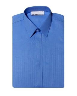 Koszula z długim rękawem niebieska 122-172 KS12