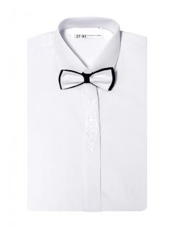 Koszula z długim rękawem i muszką 86-146 KS14