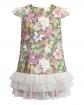 Kwiecista sukienka z tiulem 134-158 7W Multikolor