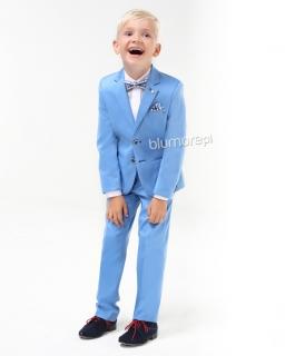 Stylowy garnitur dla dziecka 92-116 Klaus błękit