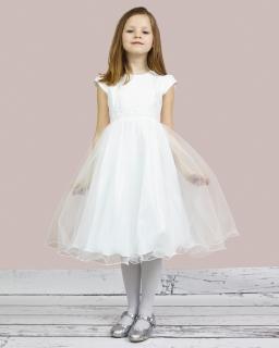 Sukienka na przebranie po komunii 134-158 Delfina biel